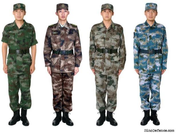 Chinese digital pattern
